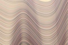 Färben Sie abstrakte Linie, kurven Sie u. bewegen Sie generativen Kunsthintergrund des geometrischen Musters wellenartig Kreativ, stock abbildung