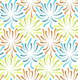 Färben Sie abstraktes nahtloses der Blume vektor abbildung