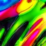 Färben Sie Abstraktion stockbild