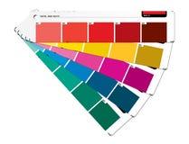 Färben Sie Anleitung rot Stockbilder