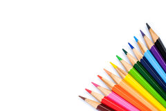 Färben Sie Bleistift Stockfotos