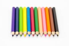 Färben Sie Bleistift Stockbilder