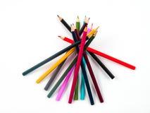 Färben Sie Bleistift Lizenzfreies Stockfoto