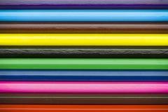 Färben Sie Bleistifte Lizenzfreie Stockbilder