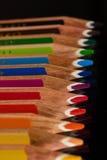 Färben Sie Bleistifte Stockfotos