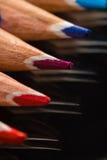 Färben Sie Bleistifte Stockfotografie