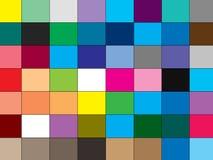 Färben Sie geometrischer Hintergrund-buntes Muster mit Quadrat Stockfotos