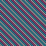 Färben Sie gestreiftes nahtloses Muster Stockbild