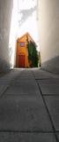 Färben Sie Haus gelb Lizenzfreies Stockbild