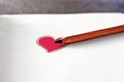 Färben Sie Ihr Herz Lizenzfreie Stockfotografie