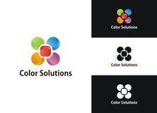Färben Sie Lösungen Lizenzfreie Stockbilder