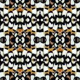 Färben Sie nahtloses natürliches Muster im Schmetterlingsdruck vektor abbildung