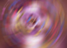 färben Sie spinnenden abstrakten Geschwindigkeitsbewegungsunschärfehintergrund, drehen Sie Drehbeschleunigung unscharfes Muster Lizenzfreies Stockfoto