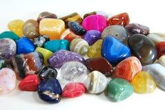 Färben Sie Steine Stockbild