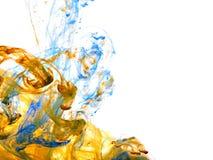 Färben Sie Wasser stockfotos