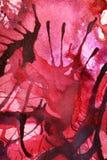 Färben Sie Wolken-handgemalte abstrakte Gouachen Lizenzfreies Stockbild