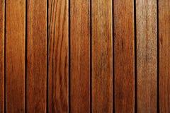 Färbt braune Hintergrundtapete des Bretterzauns stockfoto