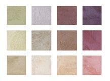 Färbung die Farbe und den Ton der dekorativen Beschichtung - Sand Lizenzfreies Stockfoto