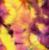 Färbungsbatikgewebe für Hintergrund und Beschaffenheit Lizenzfreies Stockfoto