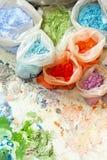 Färbungspigment Stockfoto