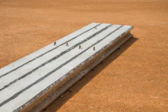 Färdiggjuten betong Royaltyfri Bild