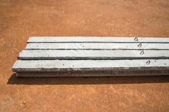 Färdiggjuten betong Royaltyfri Fotografi