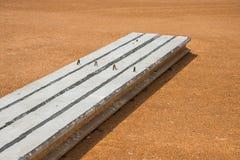 Färdiggjuten betong Royaltyfria Bilder