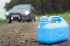 Färdigt bränslebegrepp fotografering för bildbyråer