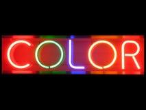 färg Arkivfoto