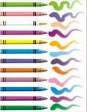 färg stock illustrationer