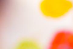Färg Dots Soft Isolated Arkivfoton