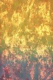 Färg för bakgrund för abstrakt begrepp smutsig texturerad ljus gul Royaltyfri Foto