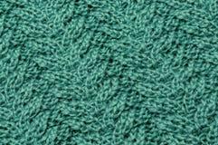 Färg för bomullstrådturkos en härlig modell arkivbilder