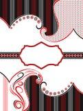 Färg för design för vektorpaisley baner itu Arkivbild