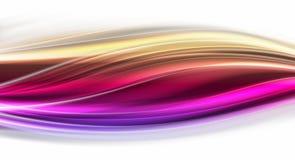 färg flödar slätt livligt värme Arkivbild
