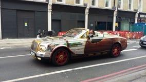 Färg fulla Rolls Royce Royaltyfri Bild