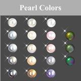 Färg inkluderar den olika otherVectormappen Arkivbilder