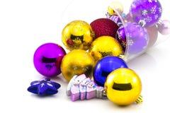 Färg klumpa ihop sig, och jul klumpa ihop sig Royaltyfri Fotografi