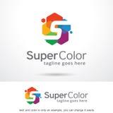 Färg Logo Template Design Vector för bokstav S Royaltyfri Illustrationer