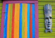 Färg på stranden Arkivbild