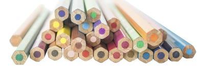 Färg ritar bakifrån arkivbild