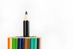 Färg ritar på vit bakgrund - kan använda för bakgrund Royaltyfri Bild