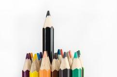 Färg ritar på vit bakgrund - kan använda för bakgrund Royaltyfria Foton