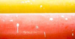 Färg splittrad yttersida av vattenröret Royaltyfria Foton