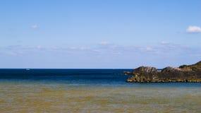 Färg två av havet Royaltyfria Foton
