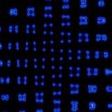 färga abstrakt geometrisk modellbakgrund, den färgrika abstrakta grafen för rasterfyrkanter med linjer och ljus effekt royaltyfri foto