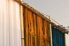 Färga arbeten, Sanganer, Jaipur Fotografering för Bildbyråer