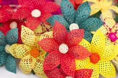 Färga blommor Fotografering för Bildbyråer