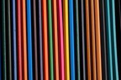 Färga blyertspennor Arkivfoton