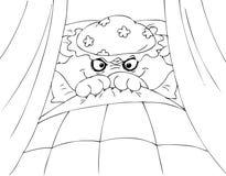 Färga den röda vargen för ridninghuv Royaltyfri Foto